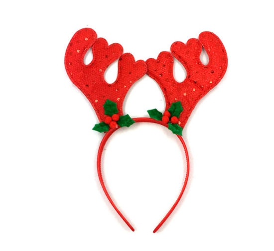 OEM Christmas Reindeer Hairband Hair Accessory with Bell pictures & photos
