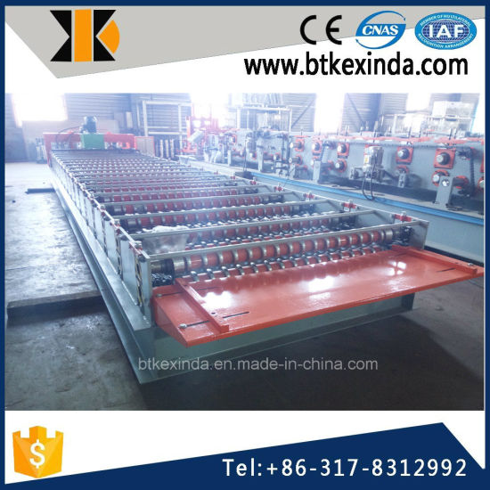 Kxd 988 Corrguated Plate Roofing Tile Building Material Machinery pictures & photos