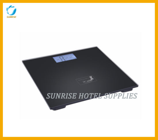 LCD Display Hotel Bathroom Electric Weighing Scale