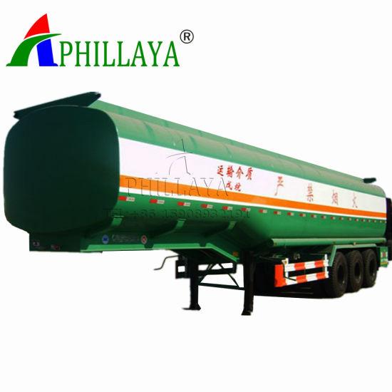 30-60m3 Oil Tanker Transport Fuel Tank Trailer for Sale (03)