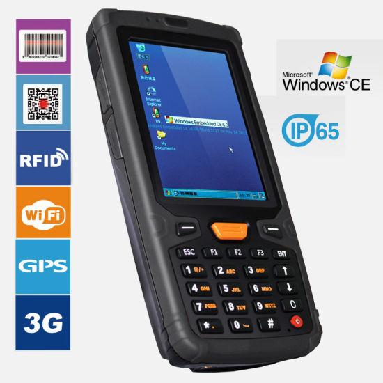 China Pda Barcode Scanner Window Handheld Data Collection