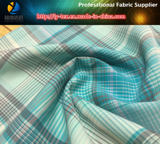 Plain Nylon Yarn-Dyed Check Fabric for Outdoor Shirts pictures & photos