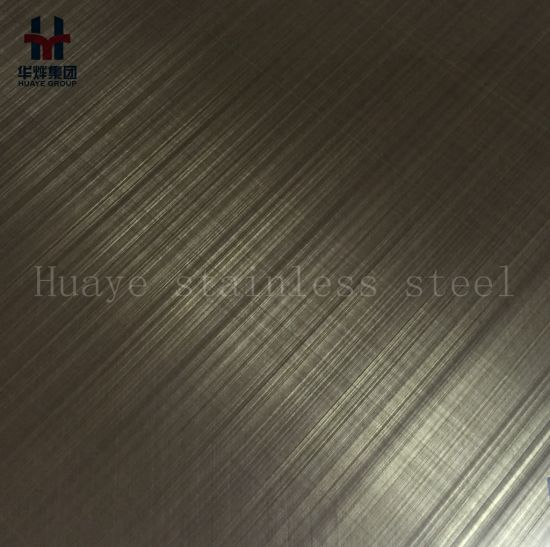 High Quality Stainless Steel Color Decorative Plate Hairline Satin Sand Blasting Mirror Finshed pictures & photos