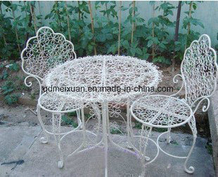 Iron Tables and Chairs, Outdoor Balcony, Leisure Tables and Chairs Can Tear Open Outfit Balcony Park Chairs a Set of Tea Table (M-X3179)