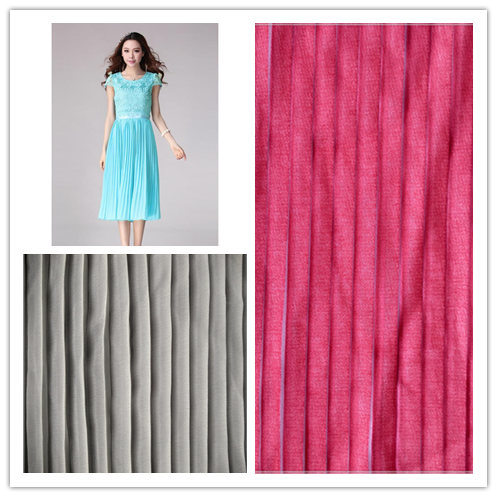 Chiffon Crepe Fabric for Women's Dress and Clothes