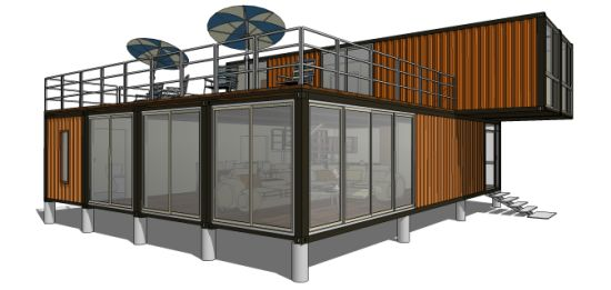 6 Unites Modular Shipping Container House pictures & photos