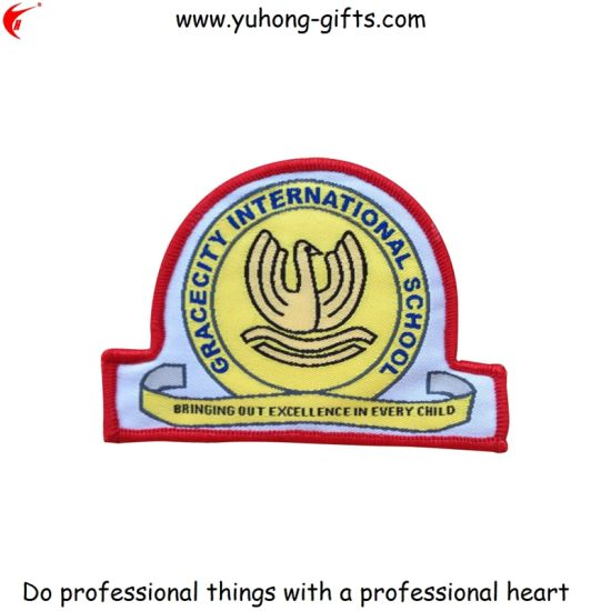 Irregular Shaped Garment School Uniform Badge (YH-WB043) pictures & photos