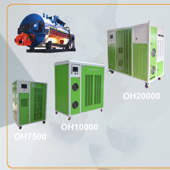 China Water Electrolysis Fuel Saving Devices Hydrogen Boiler