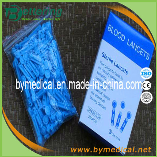 Disposable Sterile Plastic Twist Top Blood Lancet pictures & photos