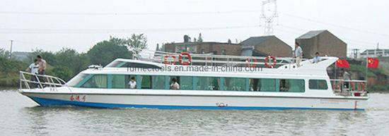 Luxury Fiberglass Ferry Boats 58 Passengers
