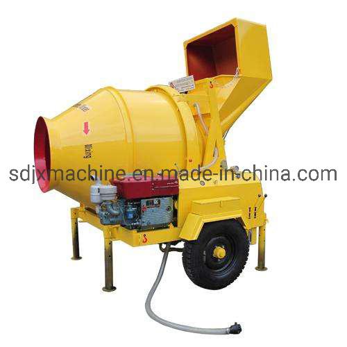 Diesel Mobile Concrete Mixer Machine Jzc350d Small Concrete Mixing Mixer for Sale