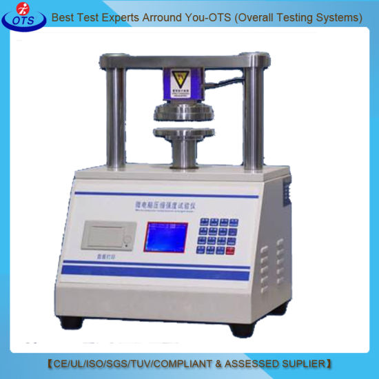 Automatic Paperboard Ect Edge Crush Test Equipment