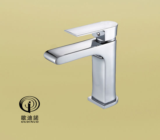 Brass Body Zinc Handle Single Lever Basin Faucet 70041