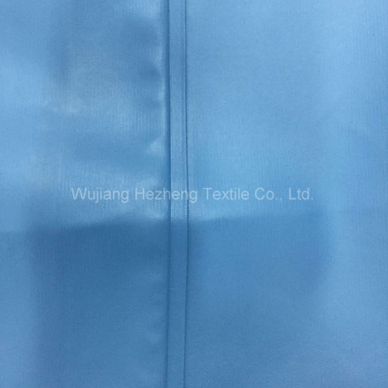 Ultrasonic Quality PU Coated Knit Hospital Mattress Fabric pictures & photos