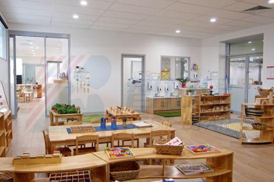 Modern Kindergarten and Preschool School Classroom Furnitures, Kids Furniture Wooden Children Furniture, Nursery and Daycare Baby Furniture