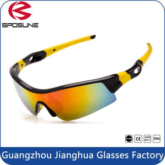 1916153984a China Lens High Impact Tr90 Sports Cycling Wrap Sunglasses - China ...