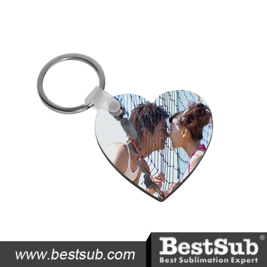 Bestsub Promotional Heart Shaped Hb Personalized Key Ring (MYA06) pictures & photos