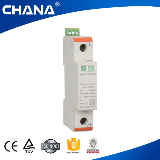 IEC and Ce Approval 2p SPD Surge Protective Device pictures & photos