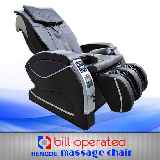 China Ict Bill Acceptor Commercial Vending Massage Chair for Coins