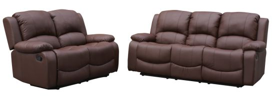 China Bonded Leather Recliner Sofa Set 3rr 2rr China Recliner Sofa