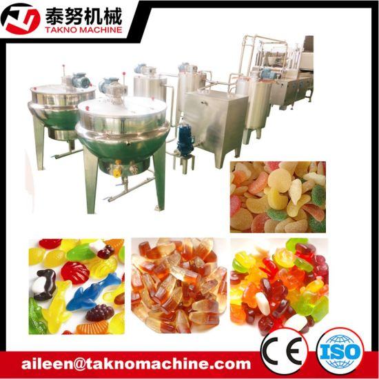 China Jelly Candy Depositing Production Line pictures & photos
