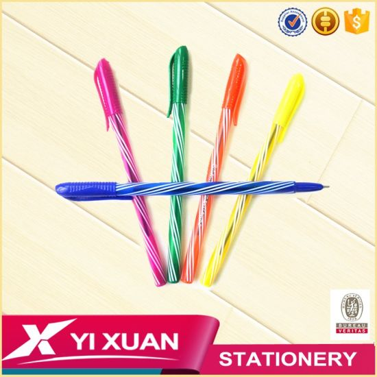 Cheap Stationery Products and Recycle Promotional Plastic Ball Point Pen pictures & photos