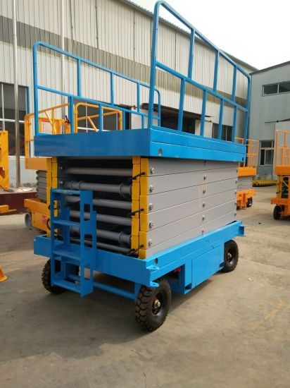 Walking Electric Auxiliary Lift Platform pictures & photos
