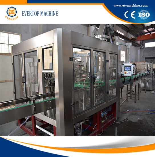 Glass Bottle CSD Bottling Equipment pictures & photos