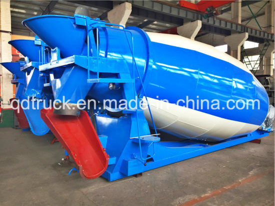 Container packing 9m3 cement mixer tank pictures & photos