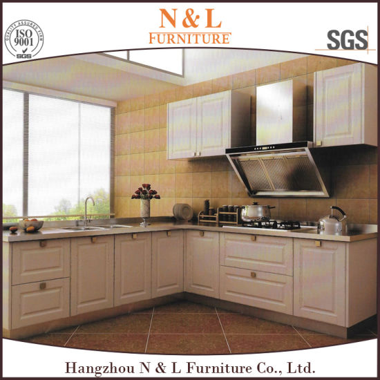 N L Outdoor Furniture Modern Style Stainless Steel Kitchen Cabinets In White Color