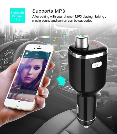 5V 2.1A Dual USB Port Car Charger with Car Humidifier Air Purifier pictures & photos