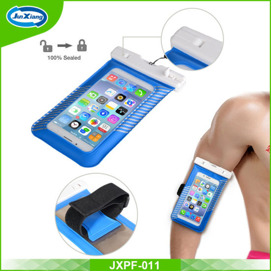 PVC Drawstring Mobile Phone Waterproof Bag, PVC Waterproof Case pictures & photos