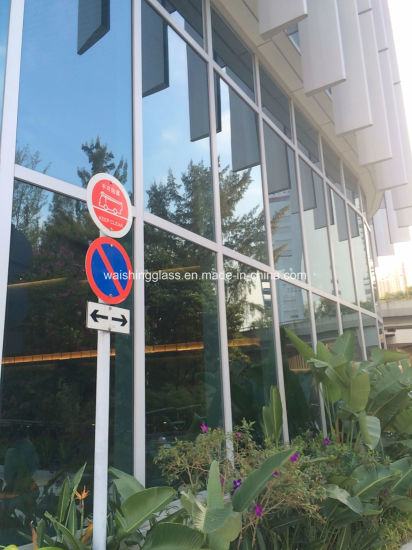 10/12/15/19mm Clear Tempered/Toughened Glass for Curtain Wall pictures & photos