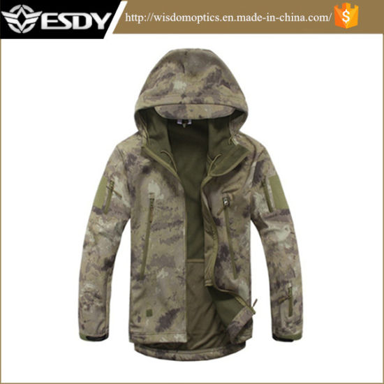 2019 Brand Winter Outdoor Tactical Waterproof Warm Camouflage Jacket
