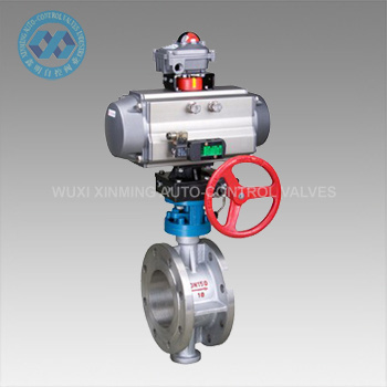 Pneumatic Flange Butterfly Valve pictures & photos