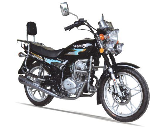 125/150cc Disc Brake Alloy Wheel Double Mufflers Motorbike (SL125-E1)