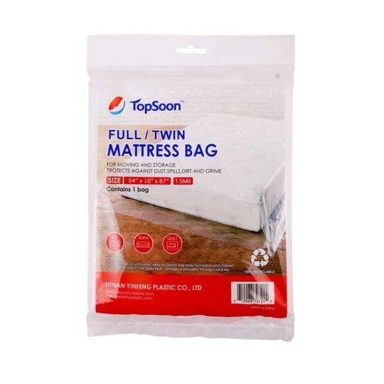 China King Queen Twin Full Mattress Bag, Plastic Mattress Storage Covers
