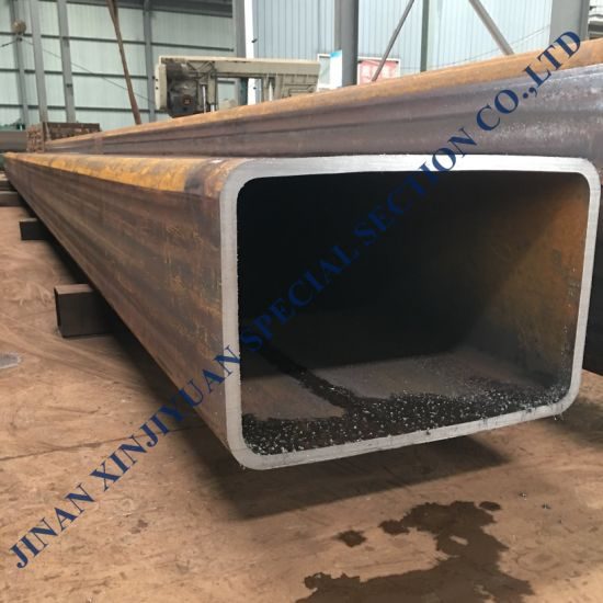 S355jr, Q345, Ss400 Carbon Steel ERW Square Rectangular Steel Tube pictures & photos