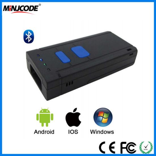 China Wireless Bluetooth Mini Barcode Reader, Portable