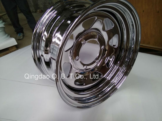 13*4.5 Galvanized Pneumatic Steel Wheel Rims and Tires for Trailer pictures & photos