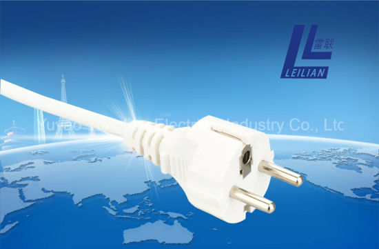 Germany Type Extension Cord Plug VDE with 16A 250V