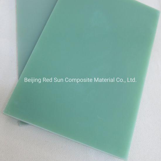 China Electrical Insulation Epoxy Resin Fiberglass Sheet Fr4