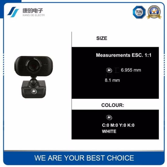 Black Network IP P2p WiFi Camera pictures & photos
