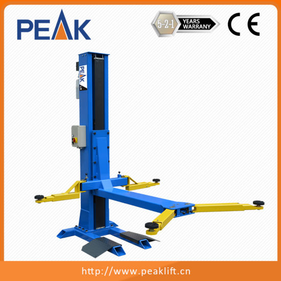 China 2 5t Portable Single Post Car Hoist For Sale Sl 2500 China