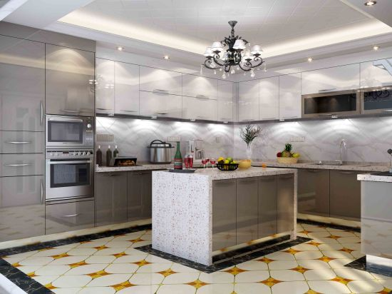 Stainless Steel Kitchen Cabinets for Waterproof Kitchen Furniture (BR-SP005) & China Stainless Steel Kitchen Cabinets for Waterproof Kitchen ...