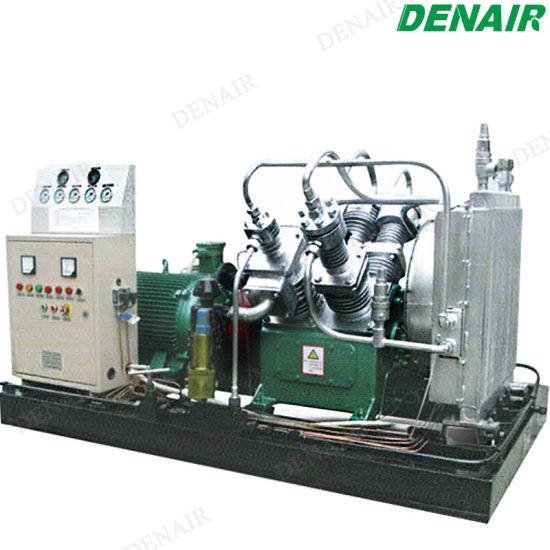 500 Psi Turbo Electric Motor High Pressure Reciprocating Air Compressor