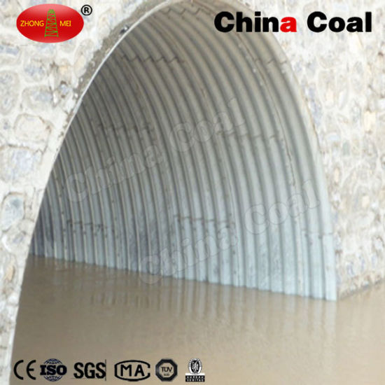 Metal Corrugated Culvert Corrugated Steel Pipe Arch pictures & photos