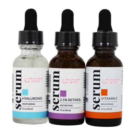 Private Label Anti Aging Retinol Vitamin C Hyaluronic Acid Serum Set