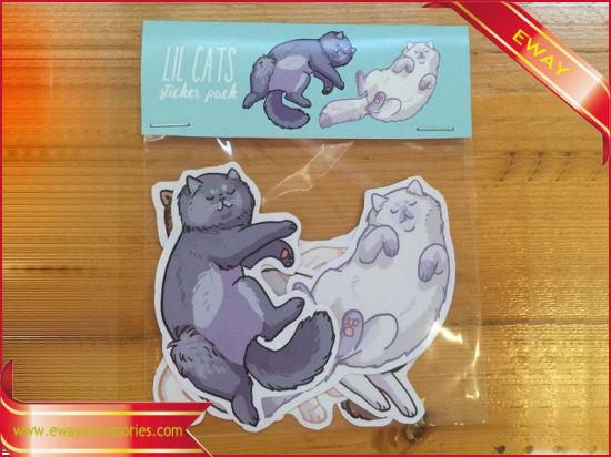 Decal paper packing sticker die cut vinyl sticker