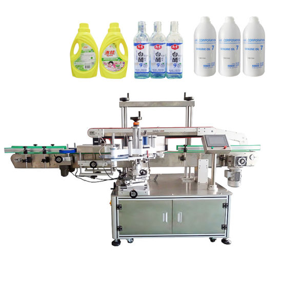 Automatic Single Double Side Flat Square Round Bottle Sticker Labeller Labelling Packing Machine (PST-S01)